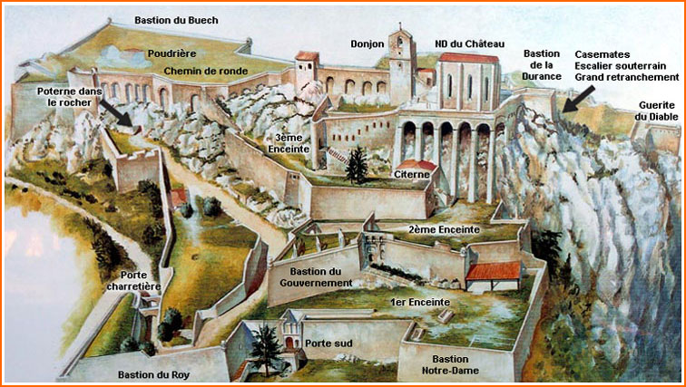 Foulonjm Com Citadelle De Sisteron